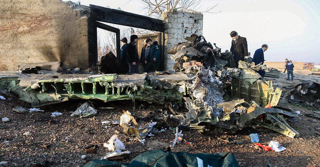 Little Clarity, Many Theories in Ukraine Airline Crash in Iran
