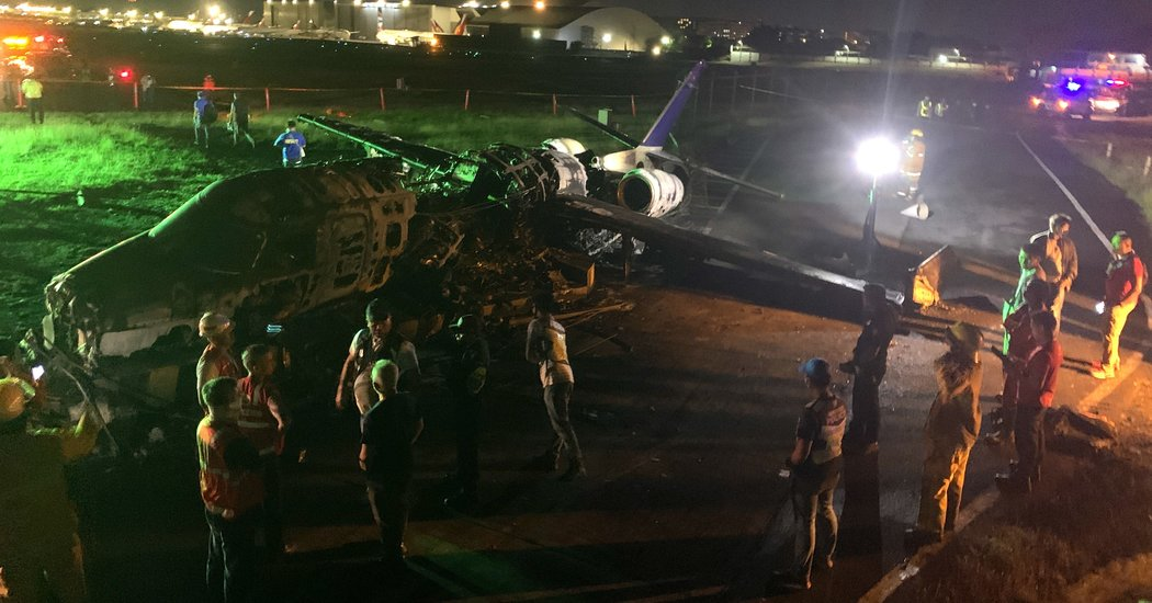 8 Killed After Philippine Plane Bursts Into Flames