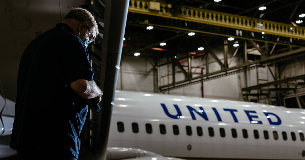 How United Airlines Is Trying to Plan Around a Pandemic