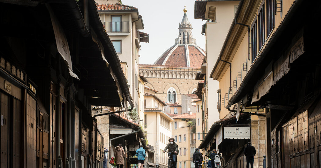 In Florence, Ponte Vecchio Jewelers Long for Tourists' Return