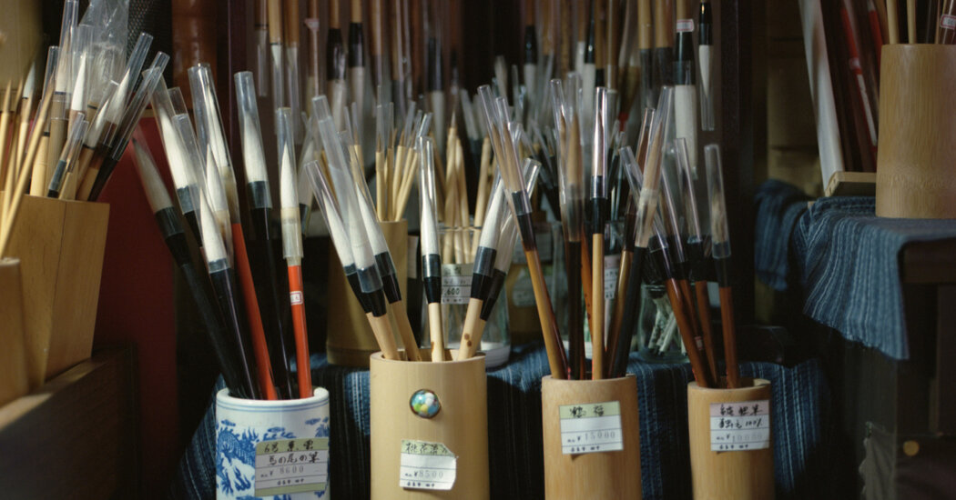 An Artisan Well Versed in the Tradition of Japanese Brush Making